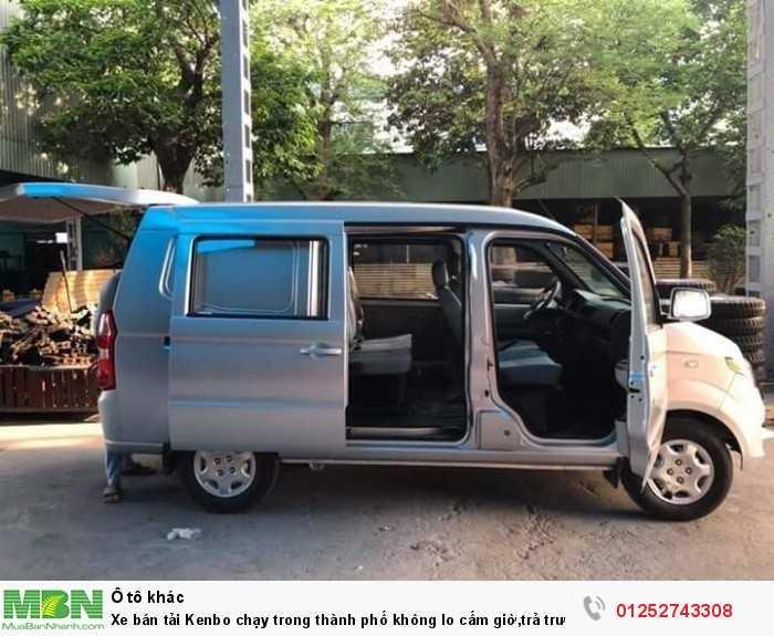Xe bán tải Kenbo chạy trong thành phố không lo cấm giờ,trả trước 30tr nhận xe ngay.