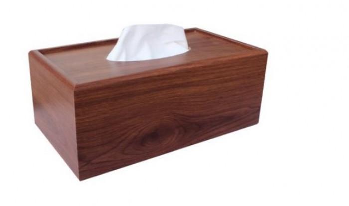 Hộp đựng khăn giấy ăn gỗ0