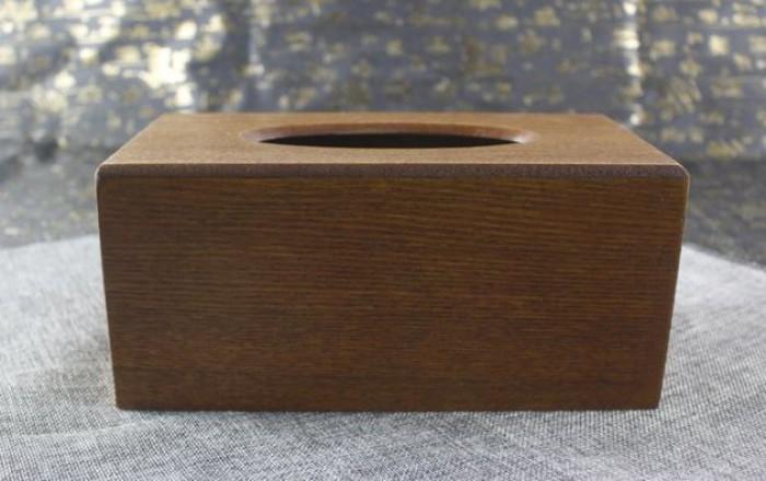 Hộp đựng khăn giấy ăn gỗ2