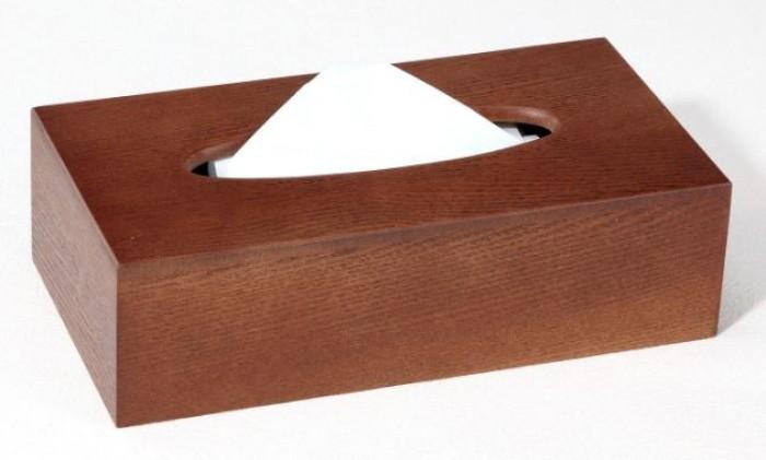Hộp đựng khăn giấy ăn gỗ3