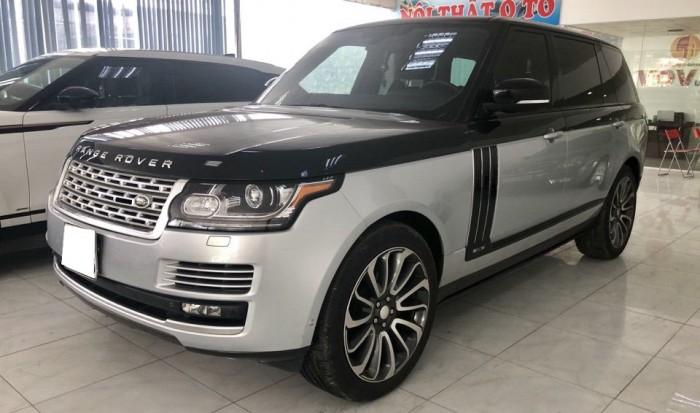 Range Rover HSE LWB 3.0 2014 đăng kí lần đầu 2017