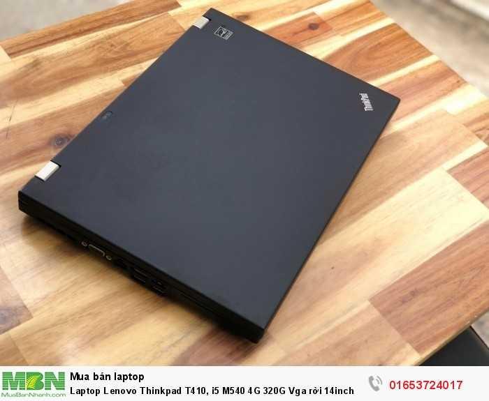 Laptop Lenovo Thinkpad T410, i5 M540 4G 320G Vga rời 14inch đẹp zin 100% giá rẻ3