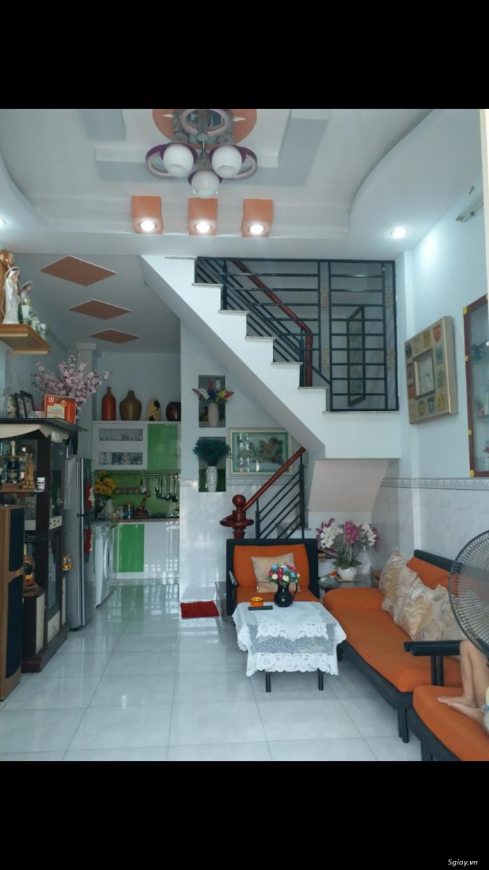 Bán nhà hẻm 2134 Huỳnh Tấn Phát, Nhà Bè, Tp.HCM diện tích 31m2