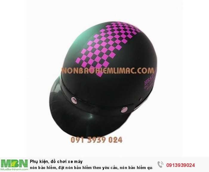 Nón bảo hiểm, đặt nón bảo hiểm theo yêu cầu, nón bảo hiểm quảng cáo
