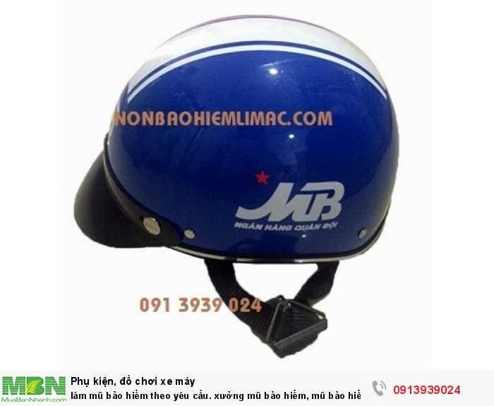 Làm mũ bảo hiểm theo yêu cầu. xưởng mũ bảo hiểm, mũ bảo hiểm in logo