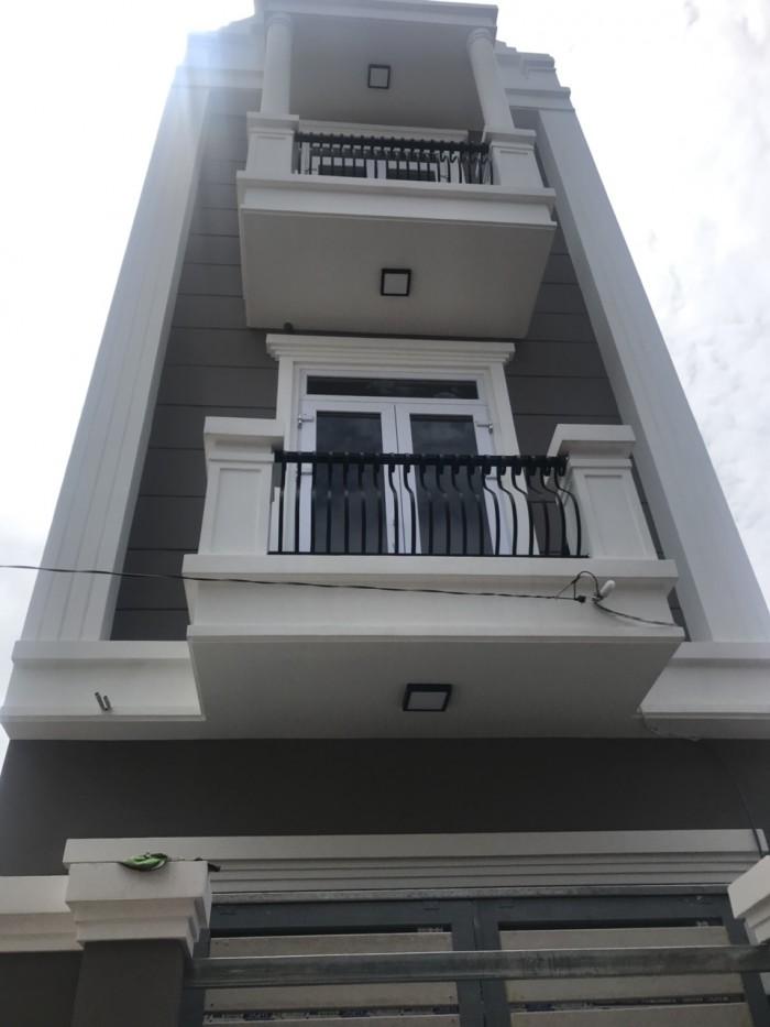 Bán nhà 1 trệt 2 lầu, đường 12, Trường Thọ, Thủ Đức.