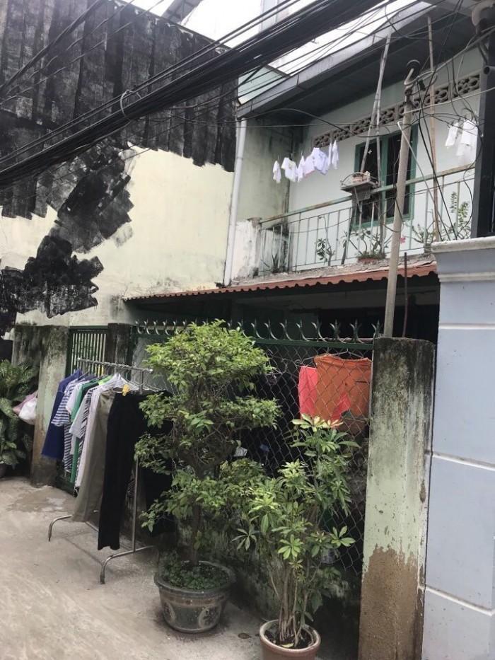 Bán gấp nhà hẻm oto gần trường Nguyễn Bỉnh Khiểm,DT 5x15m