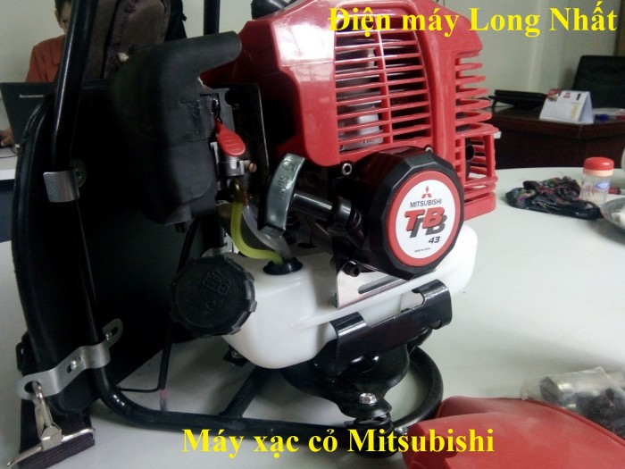 Máy Xạc Cỏ Mitsubishi1