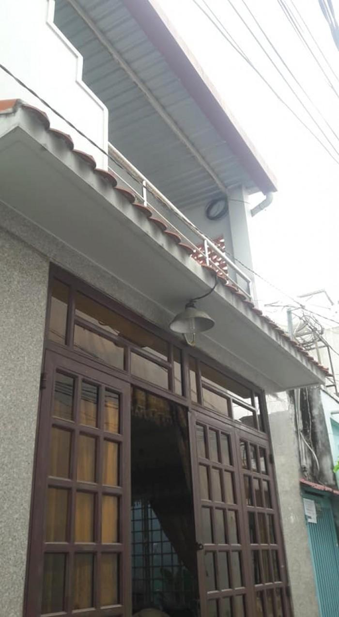 Nhà bán đường Nguyễn Tư Giản, p12 Gò Vấp ,dt,4x8 đúc 1 trệt, 1 lầu
