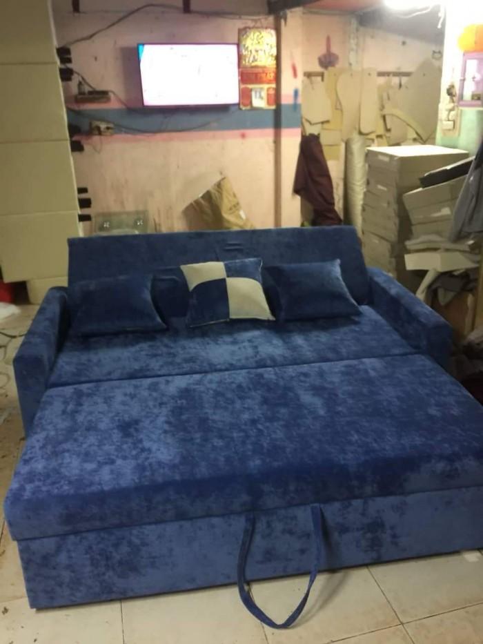 Sofa giường 3 trong 1 tiện lợi cho ko gian0