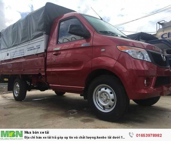 Địa chỉ bán xe tải trả góp uy tín và chất lượng:kenbo tải dưới 1 tấn