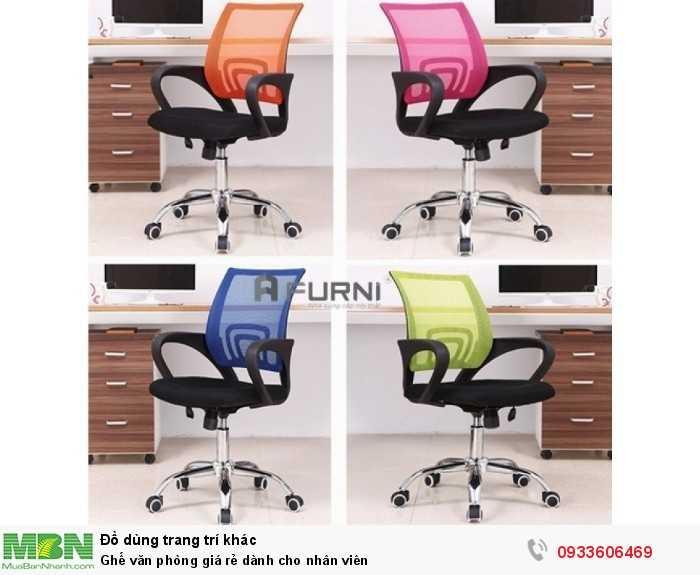 Ghế văn phòng giá rẻ dành cho nhân viên