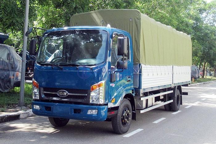Xe tải Veam vt260-1 – thùng dài 6m1,chỉ cần trả trước 100 triệu