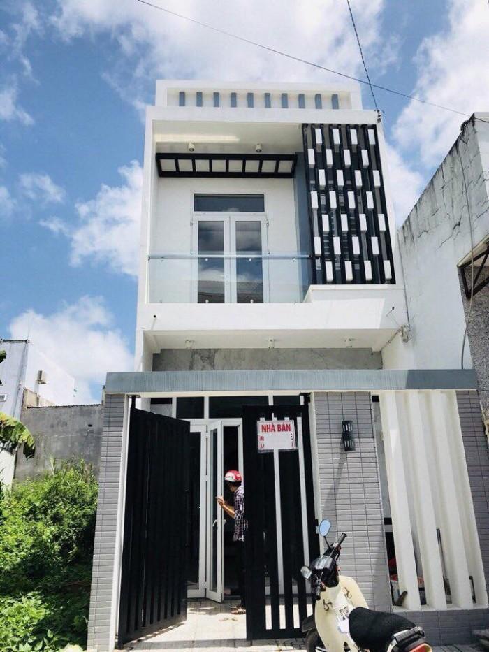 Bán Nhà 1 Trệt 1 Lầu KDC Hàng Bàng Đ.Nguyễn Văn Linh Diện Tích 4x20
