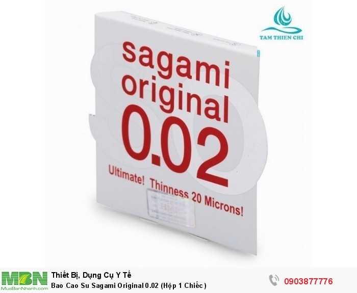 Bao Cao Su Sagami Original 0.02 (Hộp 1 Chiếc )0