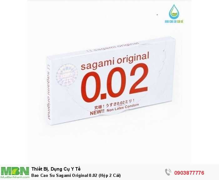 Bao Cao Su Sagami Original 0.02 (Hộp 2 Cái)3