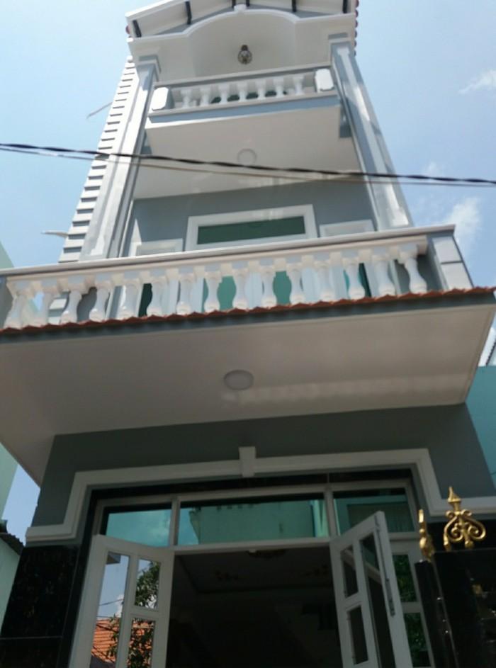 Nhà mới trệt 2 lầu sân thượng.dt:3,2x12m,sd=150m2. Huỳnh Tấn Phát Nhà Bè