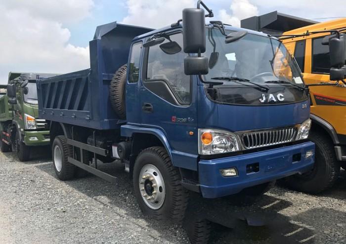 Xe ben Jac 7T8 thùng dài 4m, bán xe ben giá rẻ 0