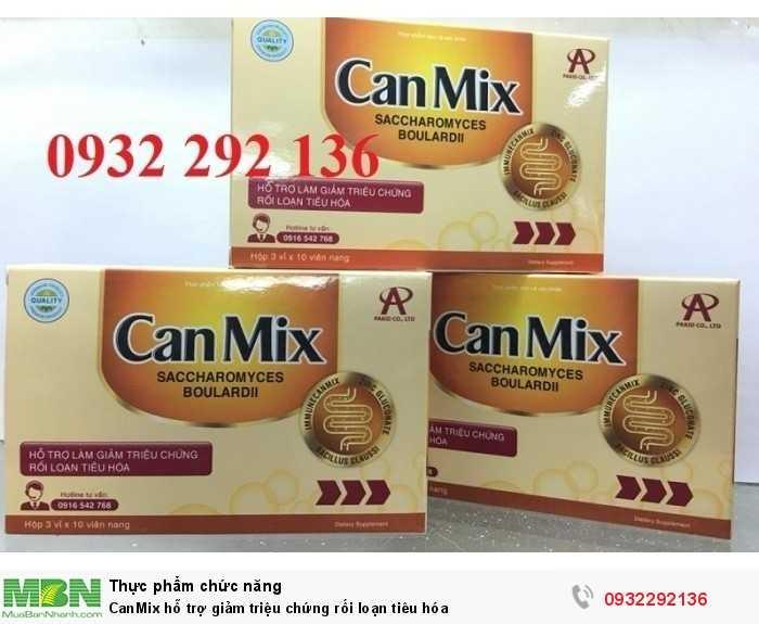 CanMix hỗ trợ giảm triệu chứng rối loạn tiêu hóa