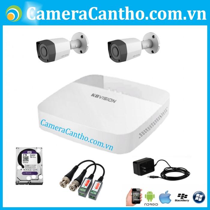 Bộ 2 camera thân hong ngoại 20m3