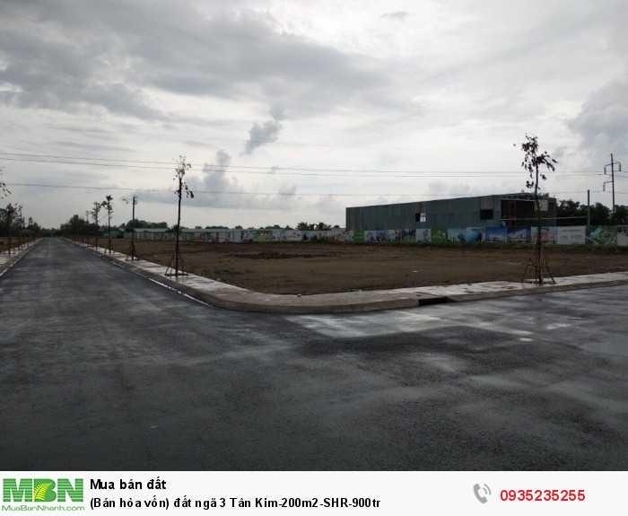(Bán hòa vốn) đất ngã 3 Tân Kim-200m2-SHR-900tr