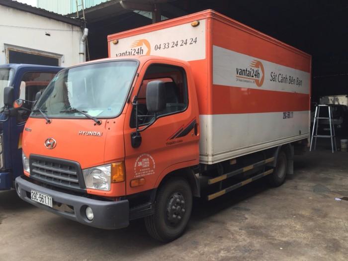 Hyundai hd65 hạ tải thành phố thùng kín đã qua sử dụng sx 2015