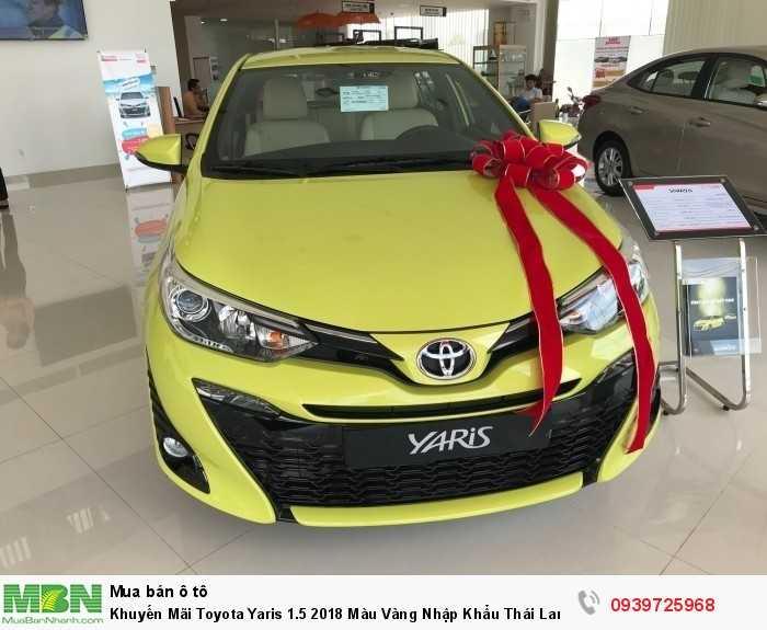 Toyota Yaris sản xuất năm 2018 Số tự động Động cơ Xăng