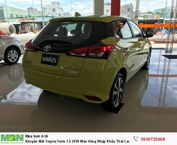 Khuyến Mãi Toyota Yaris 1.