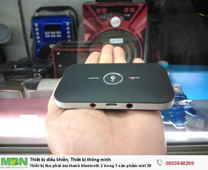 Thiết bị thu phát Bluetooth B6 2 trong 1 nhỏ gọn trong lòng bàn tay