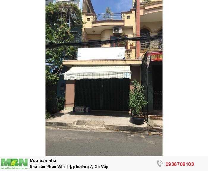 Nhà bán Phan Văn Trị, phường 7, Gò Vấp