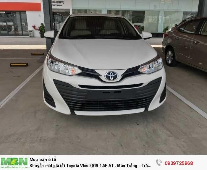 Khuyến mãi giá tốt Toyota Vios 2019 1.5E AT