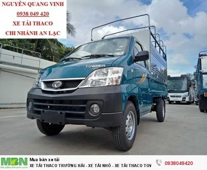 Khuyến Mãi 100% Phí Trước Bạ - Xe Tải Thaco Towner 990 Đời 2018 - Tải Trọng 990 Kg - Bán Xe Trả Góp
