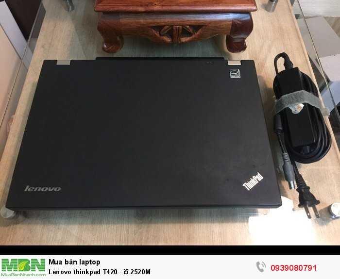 Lenovo thinkpad T420 - i5 2520M1