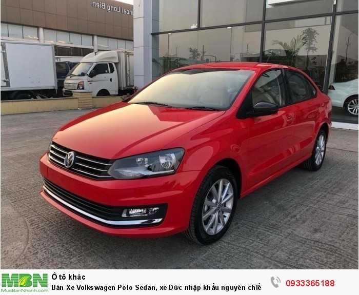 Bán Xe Volkswagen Polo Sedan, xe Đức nhập khẩu nguyên chiếc chính hãng mới 100%, hỗ trợ trả góp.