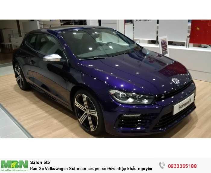 Bán Xe Volkswagen Scirocco coupe, xe Đức nhập khẩu nguyên chiếc chính hãng mới 100%, hỗ trợ trả góp 0