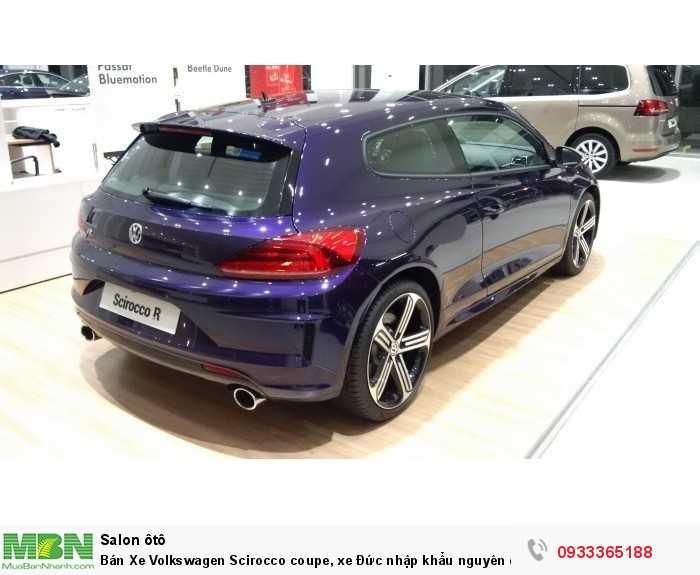 Bán Xe Volkswagen Scirocco coupe, xe Đức nhập khẩu nguyên chiếc chính hãng mới 100%, hỗ trợ trả góp 1