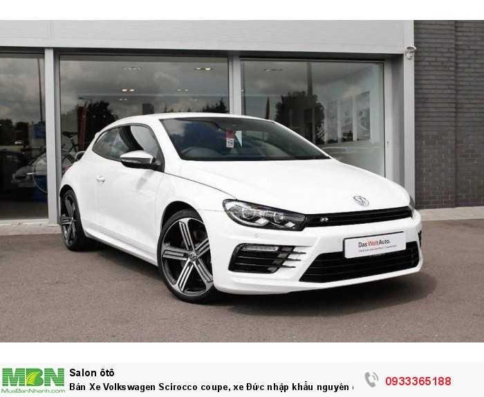 Bán Xe Volkswagen Scirocco coupe, xe Đức nhập khẩu nguyên chiếc chính hãng mới 100%, hỗ trợ trả góp 2