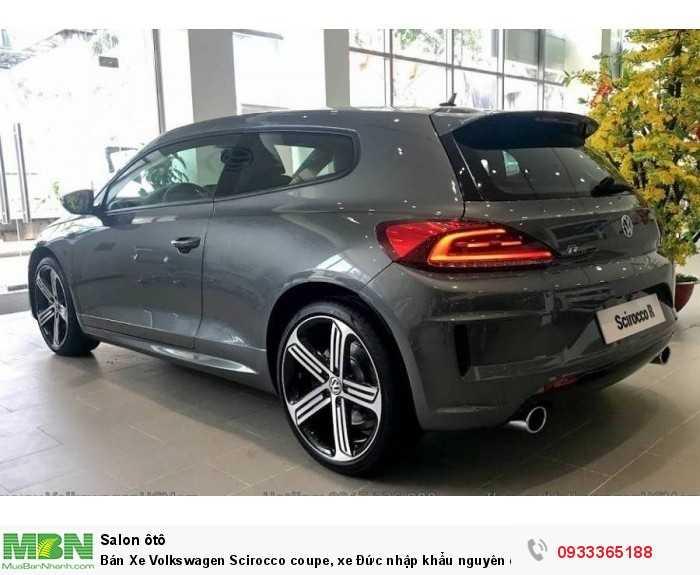 Bán Xe Volkswagen Scirocco coupe, xe Đức nhập khẩu nguyên chiếc chính hãng mới 100%, hỗ trợ trả góp 4