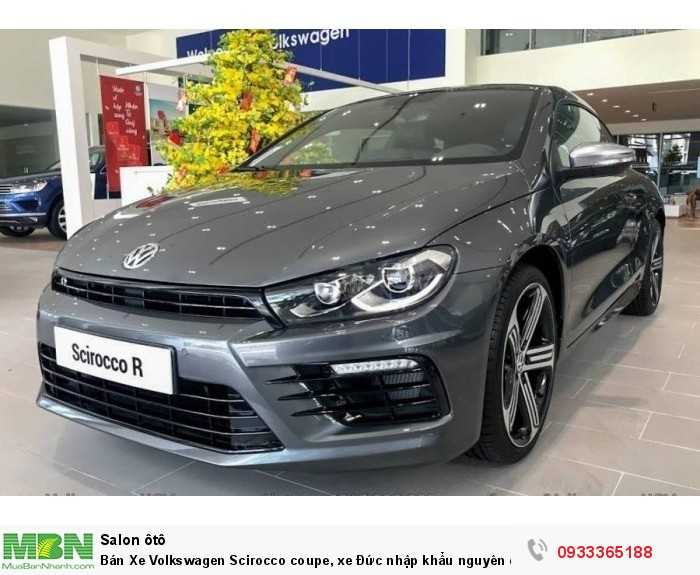 Bán Xe Volkswagen Scirocco coupe, xe Đức nhập khẩu nguyên chiếc chính hãng mới 100%, hỗ trợ trả góp 5