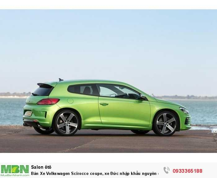 Bán Xe Volkswagen Scirocco coupe, xe Đức nhập khẩu nguyên chiếc chính hãng mới 100%, hỗ trợ trả góp 6