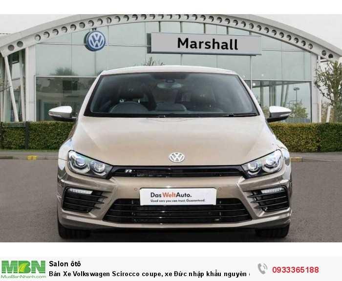 Bán Xe Volkswagen Scirocco coupe, xe Đức nhập khẩu nguyên chiếc chính hãng mới 100%, hỗ trợ trả góp 8