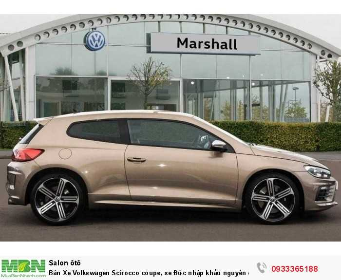 Bán Xe Volkswagen Scirocco coupe, xe Đức nhập khẩu nguyên chiếc chính hãng mới 100%, hỗ trợ trả góp 9