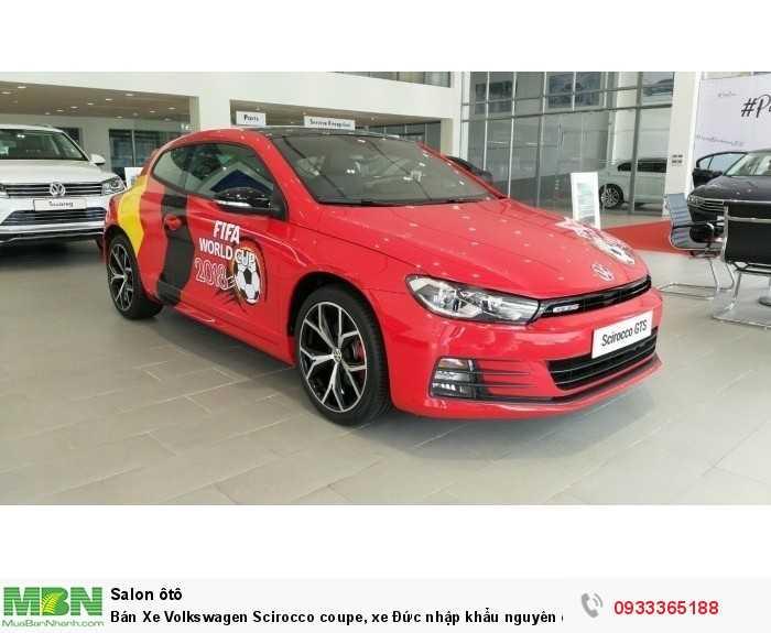 Bán Xe Volkswagen Scirocco coupe, xe Đức nhập khẩu nguyên chiếc chính hãng mới 100%, hỗ trợ trả góp 10