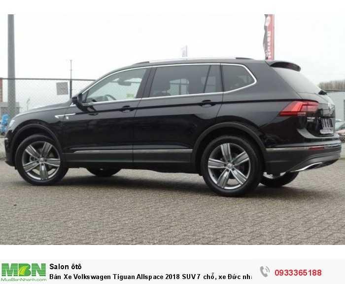 Bán Xe Volkswagen Tiguan Allspace 2018 SUV 7 chỗ, xe Đức nhập khẩu nguyên chiếc chính hãng mới 100%