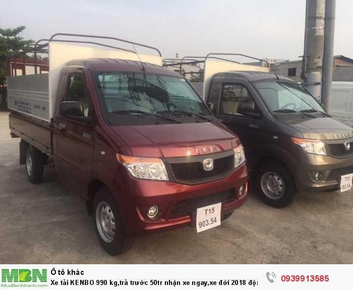 Bán xe tải kenbo 9 tạ, xe tải kenbo 990kg,xe tải nhỏ của Chiến Thắng1
