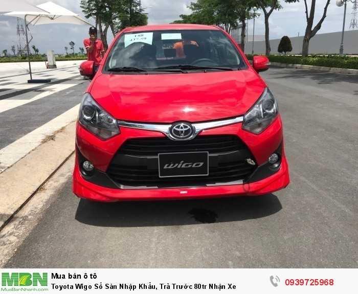 Toyota Wigo Số Sàn Nhập Khẩu, Toyota Bình Chánh Khuyến Mãi Khủng
