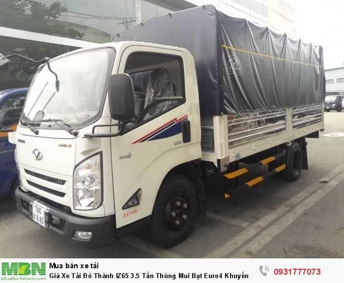 Giá Xe Tải Đô Thành IZ65 3.5 Tấn Thùng Mui...