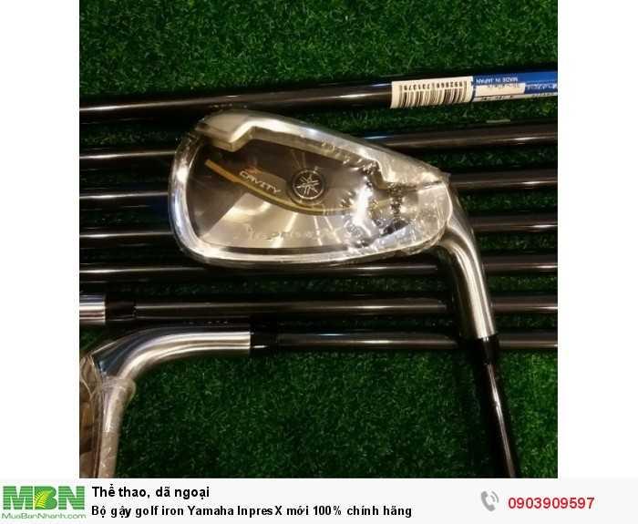 Bộ gậy golf iron Yamaha InpresX mới 100% chính hãng2