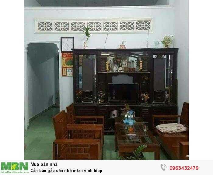 Cần bán gấp căn nhà ơ Tân Vĩnh Hiệp