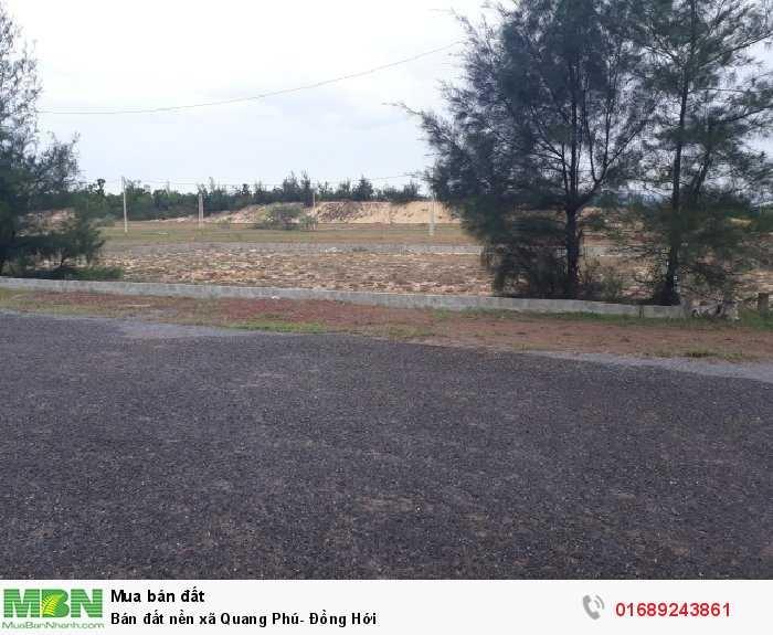 Bán đất nền xã Quang Phú- Đồng Hới